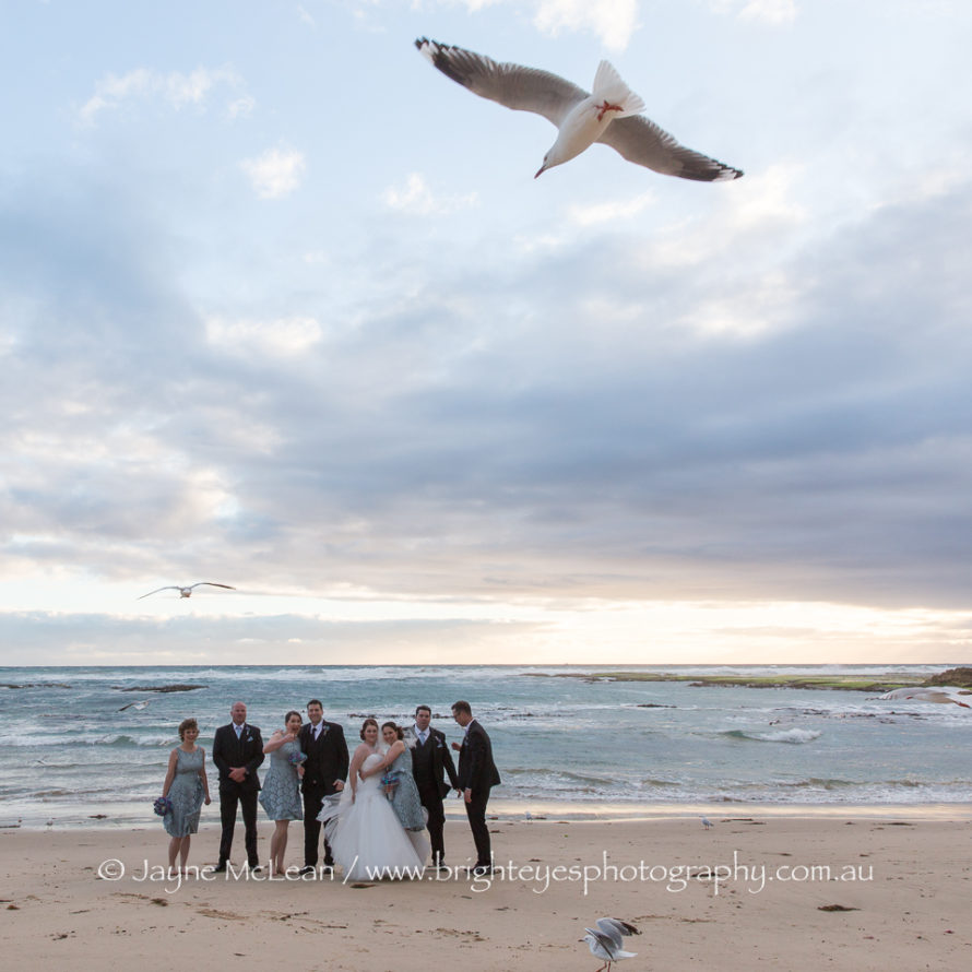 sorrento wedding photographer, all smiles sorrento wedding, mornington peninsula wedding photographer, bright eyes photography
