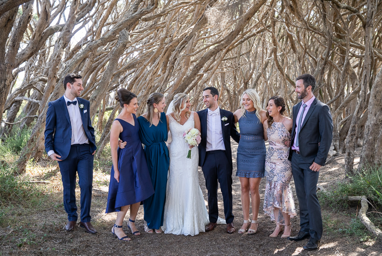 all smiles Sorrento wedding photography, bright eyes photography Mornington peninsula wedding photographer